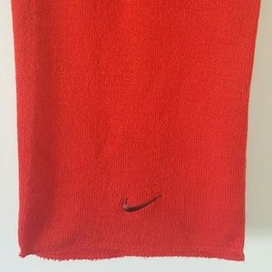 Red Nike Scarf